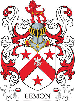 Lemon family crest