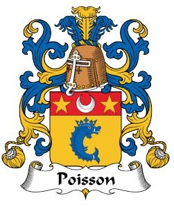 Poisson family crest