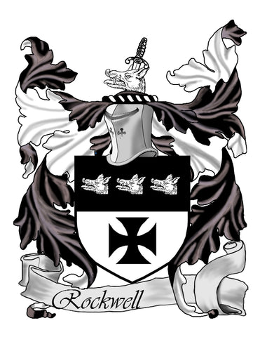 Rockwell family crest