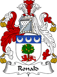 Ronald family crest