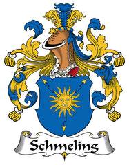 Schmeling family crest