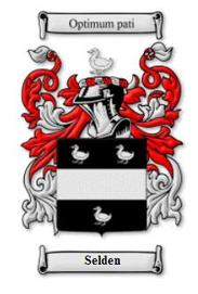 Selden Family Crest