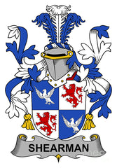 Shearman family crest