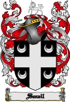 Smail family crest