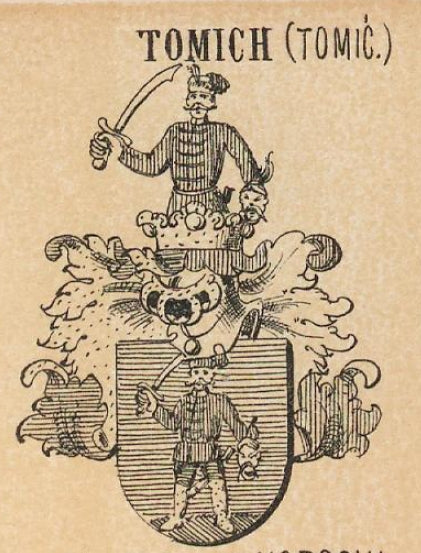 Tomich family crest