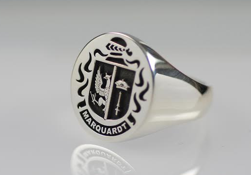 Signet Family Crest Ring
