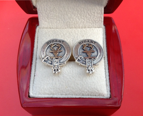 Scottish Clan Crest Cufflinks