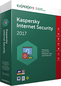 Kaspersky Internet Security 2017 - 3 Lizenzen (Upgrade) 1 Jahr (deutsch) (FFP)