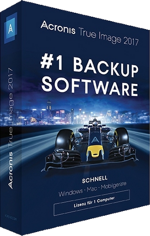 Acronis True Image 2017 - 1 Lizenz (deutsch) Box