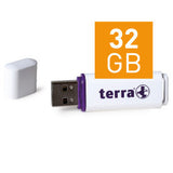 TERRA USB-Stick USBee USB 2.0 32 GB 14/4 white