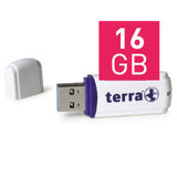 TERRA USB-Stick USThree USB 3.0 16 GB 80/10 white