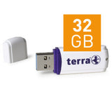 TERRA USB-Stick USThree USB 3.0 32 GB 80/20 white