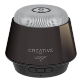 Creative Lautsprecher WOOF Mini Speaker Bluetooth Grey / Black