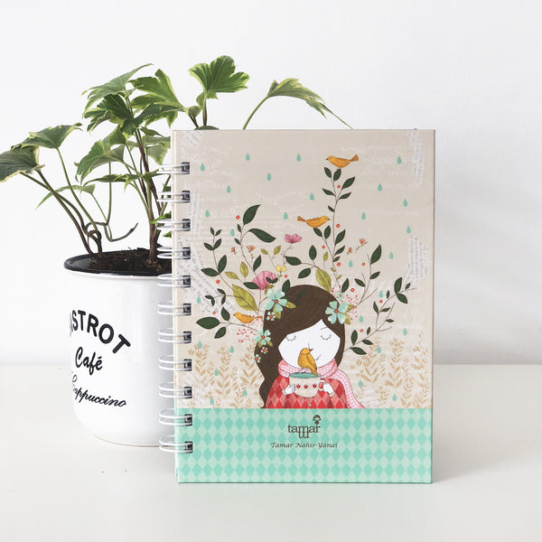 Spiral Mini Notebook - Happy Thoughts