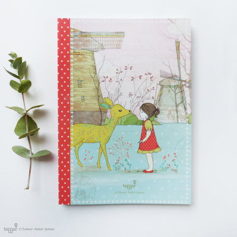 Bambi Girl Notebook