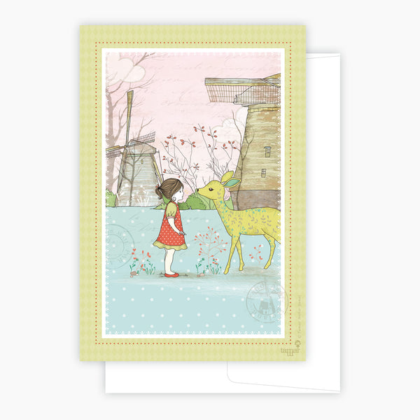 Bambi Girl Card