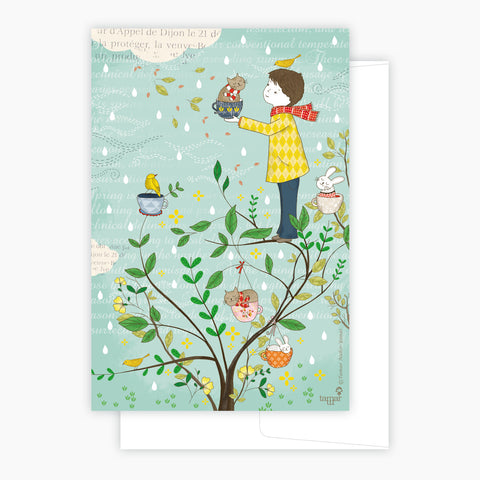 Cats Tree Card