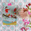 Colorful Winter series - Complete set of 6 cards