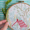 "Dream House - 6"" embroidery kit"