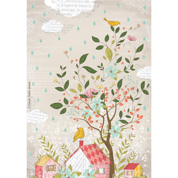 Dream house print wall art