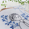 "Dreamy Lady - 6"" embroidery kit"