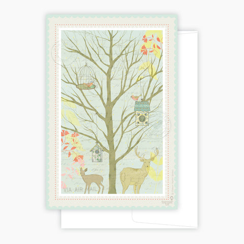 Dutch forest Card