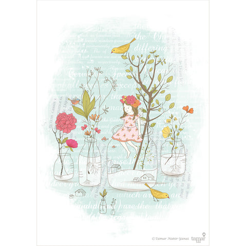 Fairyland print wall art