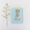Spiral Mini Notebook - Floral Lady