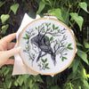 "Forest Girl - 6"" embroidery kit"