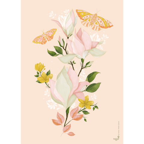 Fresh Bloom print wall art