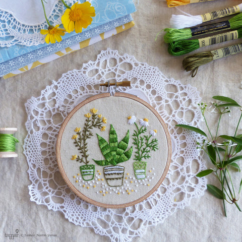 6 - Embroidery Garden