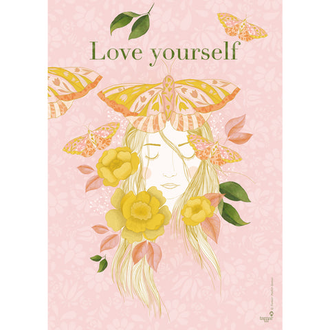 Love Yourself print wall art