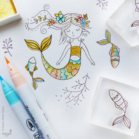 Stamp Sets Mermaid Dreams