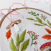 "Magical Autumn - 4"" embroidery kit"