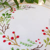 "Christmas Wreath - 6"" embroidery kit"