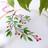 "Mistletoe - 6"" embroidery kit"