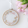 "Wildflowers Circle - 6"" embroidery kit"
