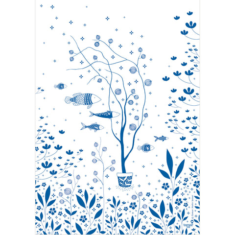 Sea of Wishes print wall art