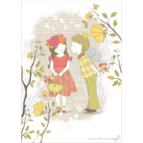 Spring Love print wall art