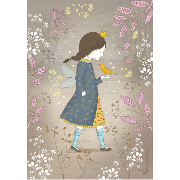 Winter Fairy print wall art