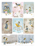 Winter Fairy series - Complete set of 8 cards