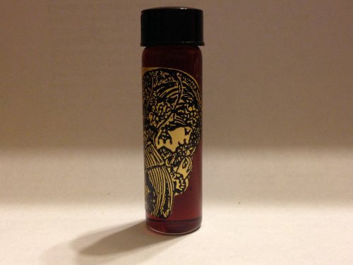 Pharaoh, Magickal Oil 2 Dram Bottle, This formula is designed to break the power and control others have over you. It works well on spells dealing with guilt, low self-esteem, unhealthy relationships, betrayal, and unkind people in general.
