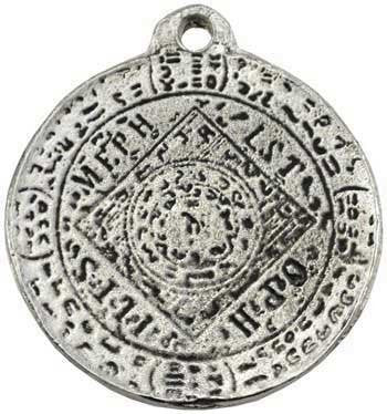 The Seal of Mephistopheles Amulet. 1 1/4""