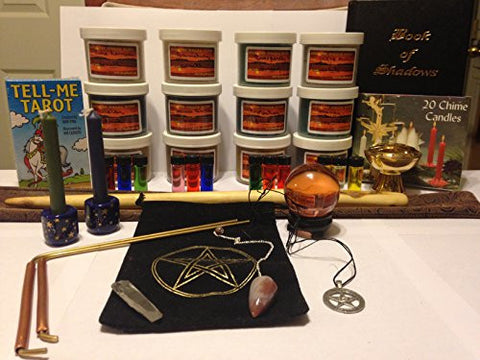 Wiccan Beginners Kit. Includes many of my most popular products. Now available in one affordable kit.