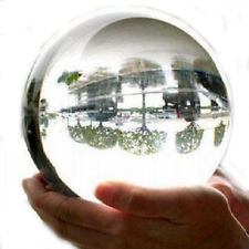 130mm Clear Crystal Ball with Stand