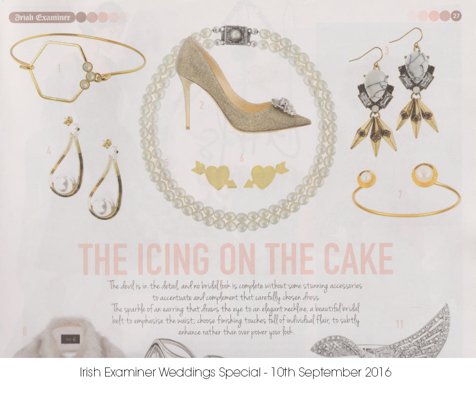 Aliquo Wedding Jewellery Irish Examiner Publication