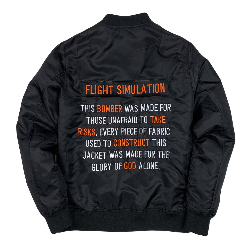 Flight Simulation Bomber Jacket