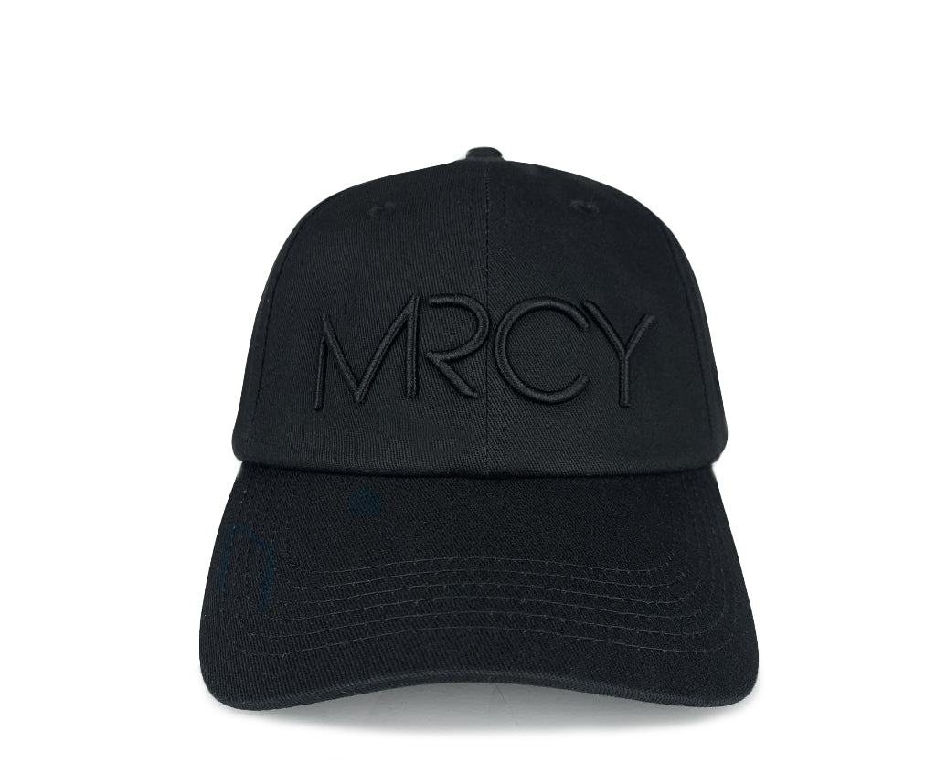 MRCY - Black/Black - Dad Hat
