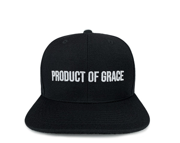 Product of Grace Snapback - Black
