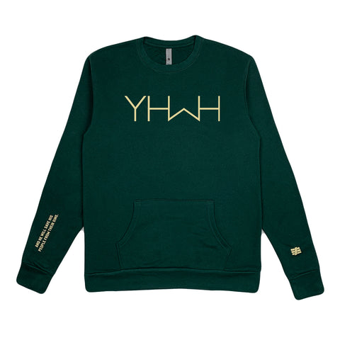 Forest Green YHWH Sweatshirt